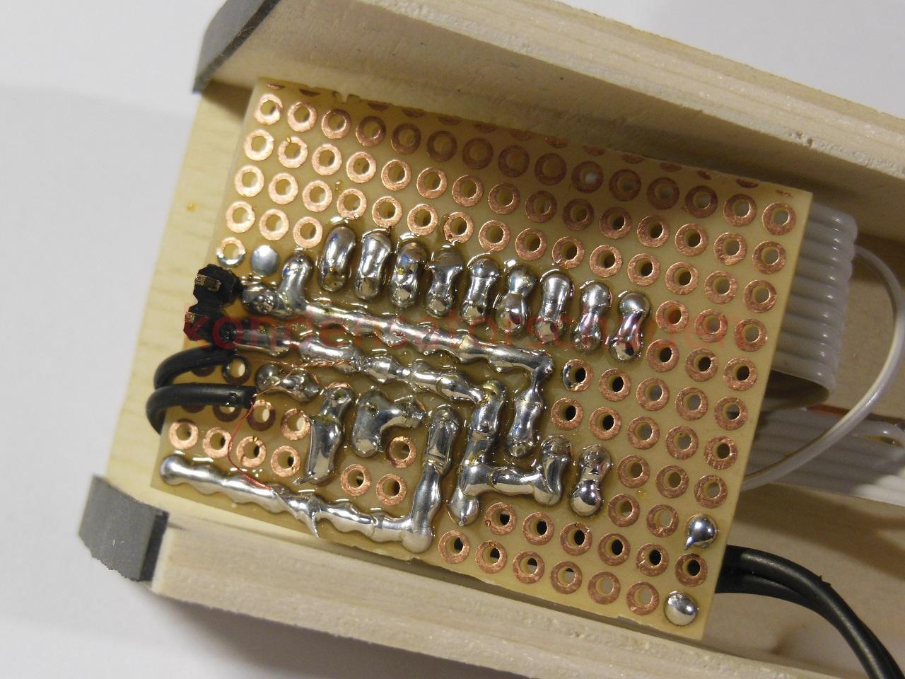 How2] VU Meter selbst gebaut Kondensatorschaden