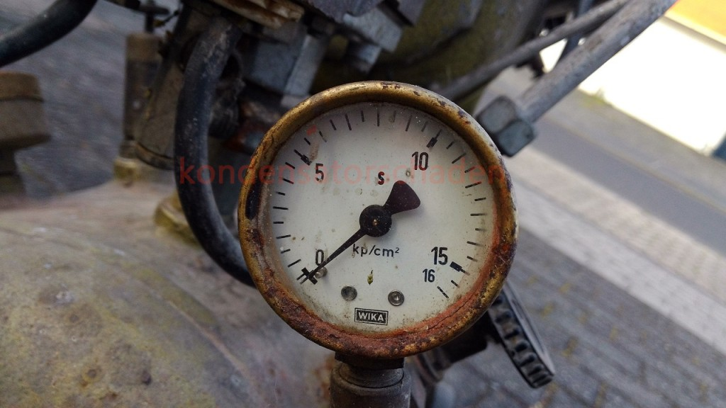 Neuer Kompressor eingetroffen – frisch von 1972 *Update 4 / Fertigstellung*