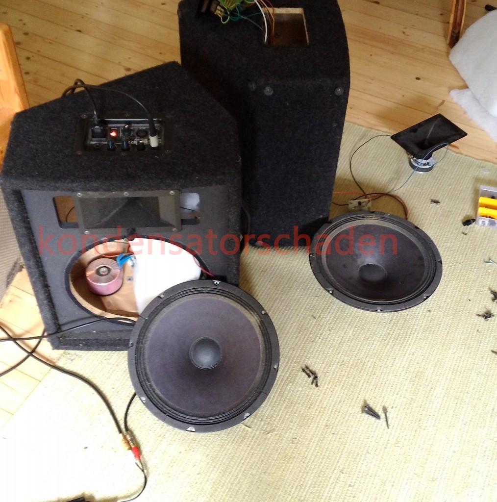 [Reparatur] Aktivbox – Frequenzweiche