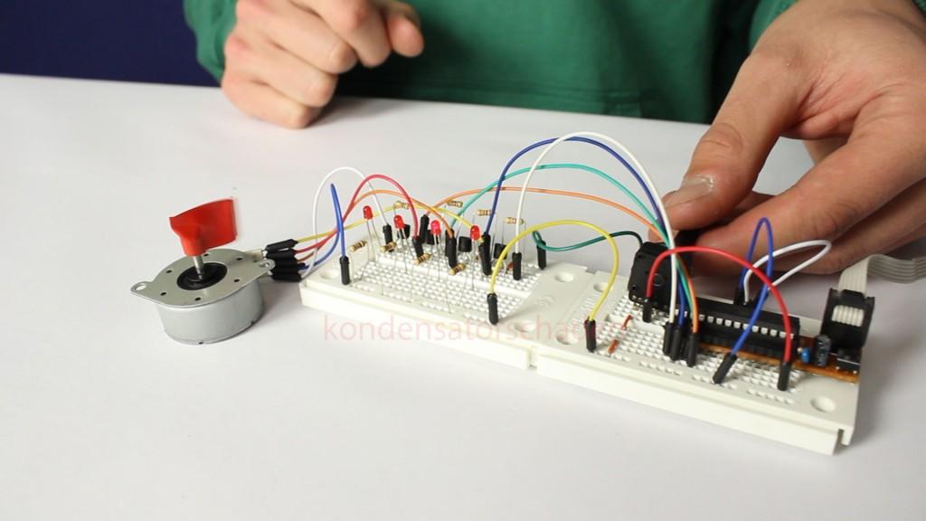 [Mikrocontroller] Schrittmotor ansteuern
