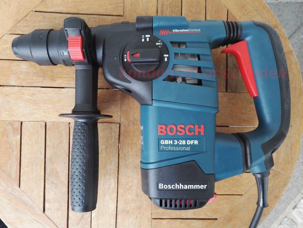 Bosch Bohrhammer BGH 3-28 aka die Abrissbirne des kleinen Mannes