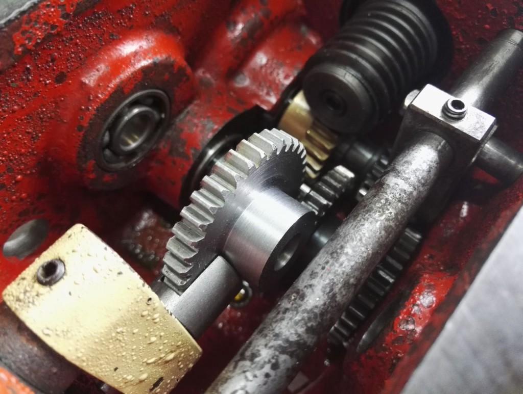 Vorschubgetriebe-Reparatur Gualdoni G61Z