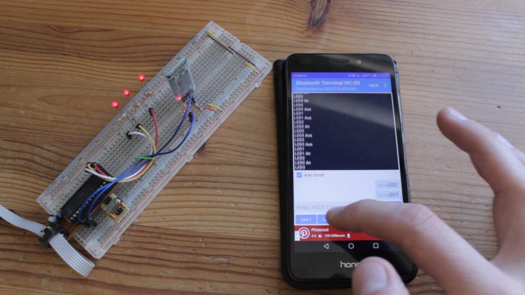 Bluetooth am Mikrocontroller